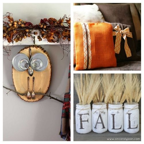 12 Simple Budget Friendly Fall Decorating Ideas - Here are some easy to do, budget friendly, DIY fall decorating ideas that will hopefully give you some inspiration for your fall decor. #ACultivatedNest