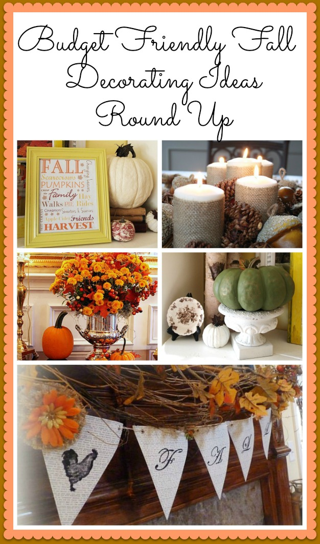 DIY Fall Decorating Ideas - Here are some easy to do, budget friendly, DIY fall decorating ideas that will hopefully give you some inspiration for your fall decor.