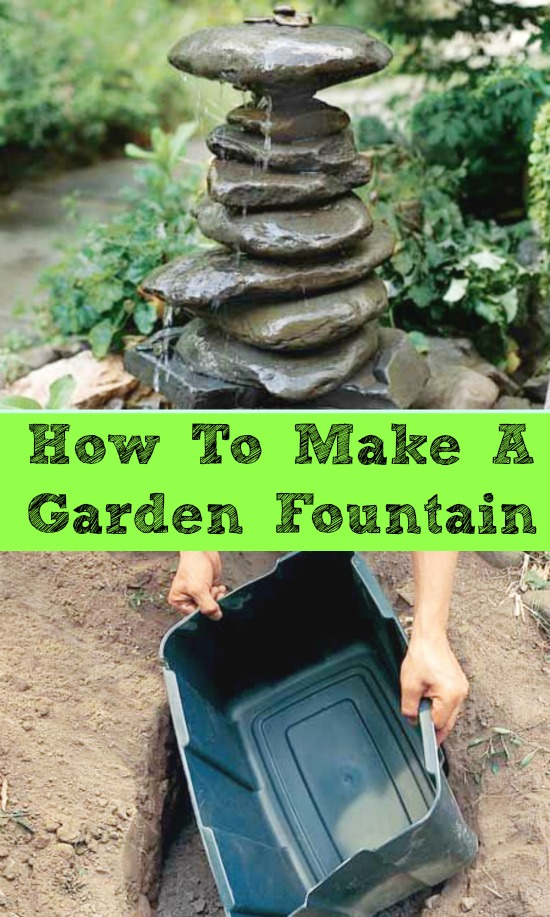 Lovely DIY Garden Fountain