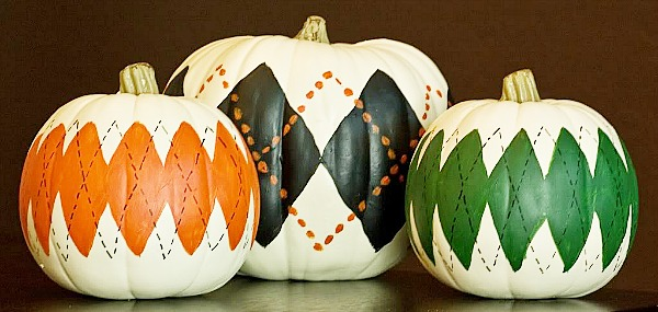 10 stylish no carve pumpkin decorating ideas a