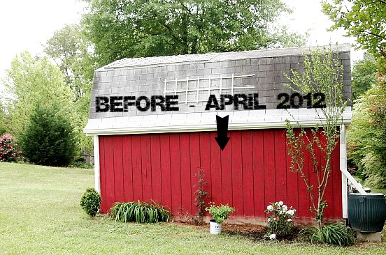 barn before planting hydrangea
