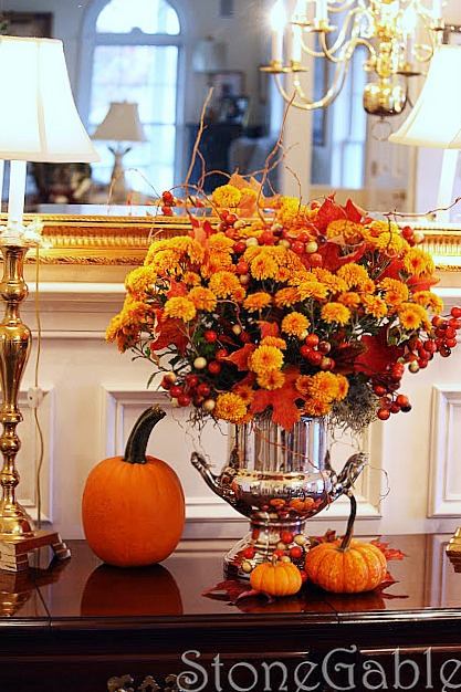 Fall Decorations Ideas Gorgeous With Fall Decorating Ideas Image