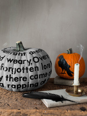 typographic pumpkin