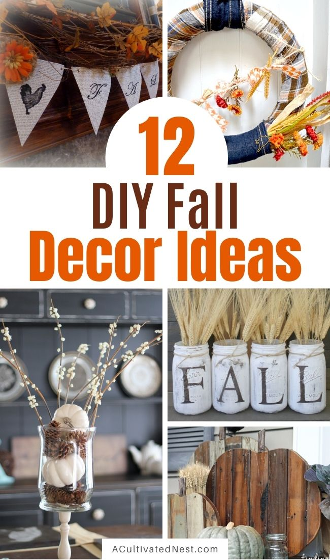 12 Simple Budget Friendly Fall Decorating Ideas