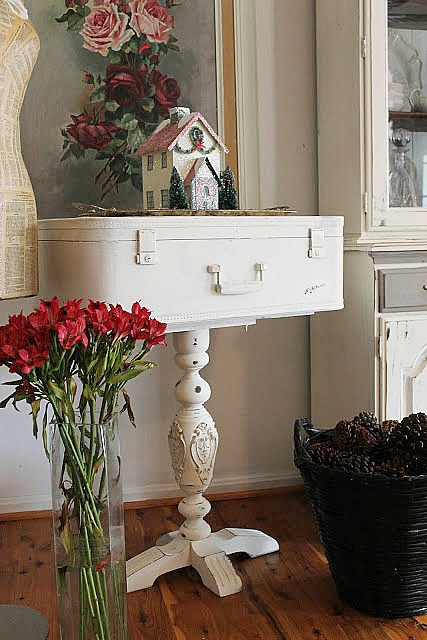 15 Ways to Repurpose a Suitcase - make a suitcase table