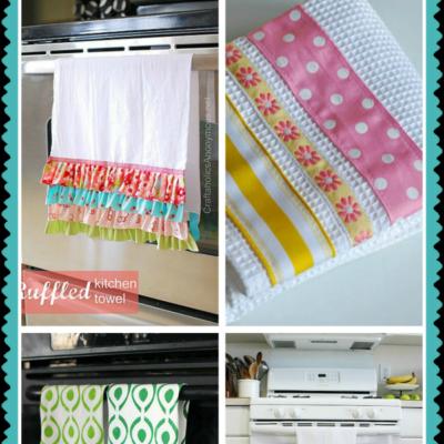 4 easy to make tea towels