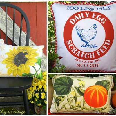 Hens In Daisies Etsy Shop Pillows