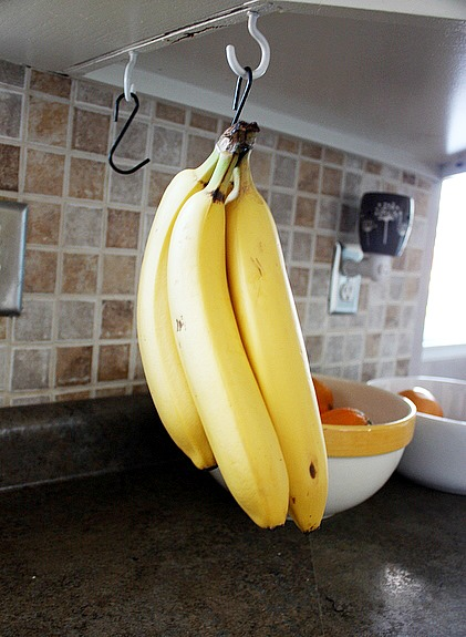 DIY banana hanger