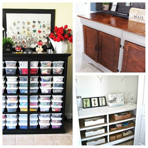 12 Clever Ways to Repurpose a Dresser- If you have an old dresser, it could be turned into something new, useful, and beautiful! For inspiration, check out these 12 clever ways to repurpose an old dresser! | DIY furniture makeover, upcycle a dresser, #repurpose #upcycle #furniture #DIYProject #ACultivatedNest