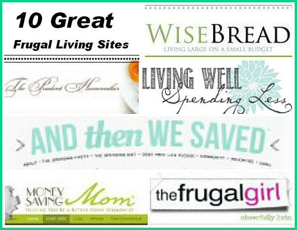 Top 10 Frugal Living Websites