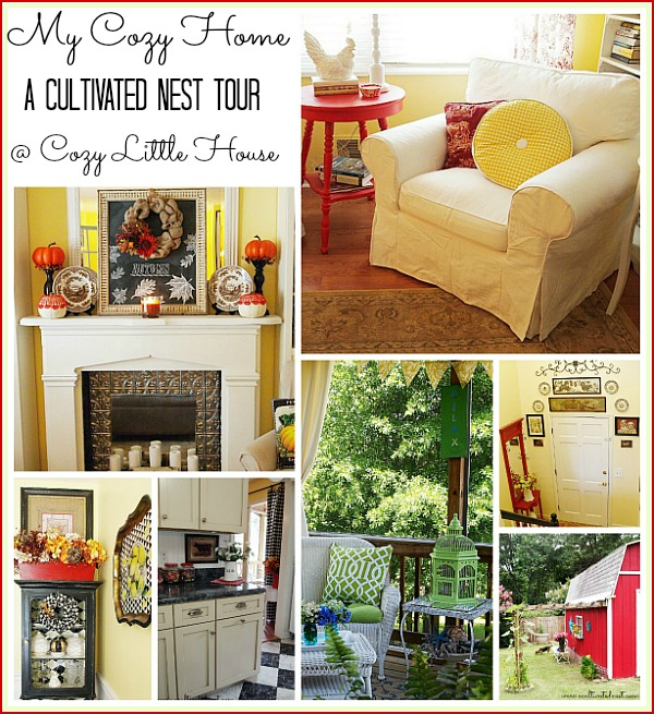A Cultivated Nest Home Tour @ Cozy Little House