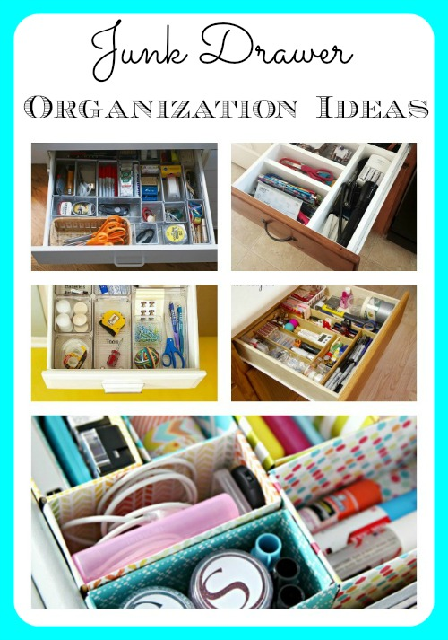 We all have them! Here are some fantastic ideas for organizing your junk drawer!