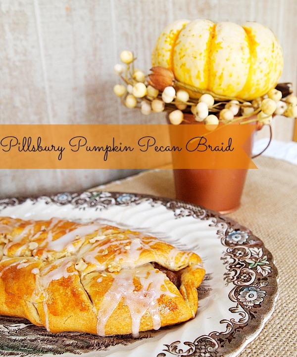 Pillsbury pecan pumpkin braid - Turn crescents & other simple ingredients into a fast dessert