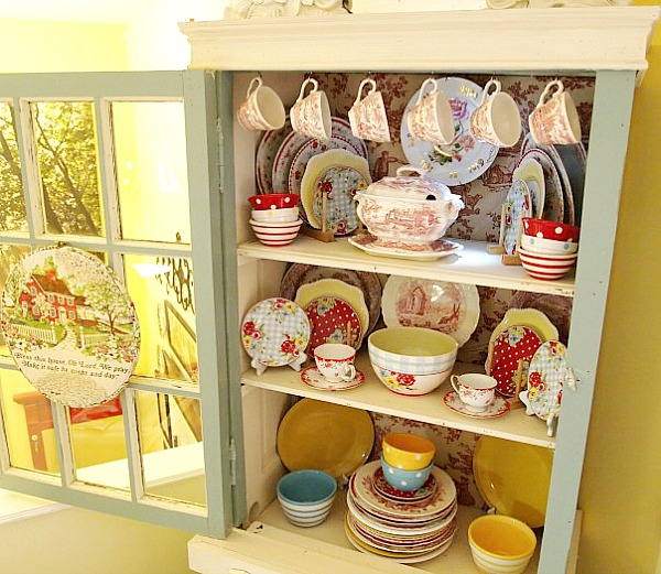 a cultivated nest china cabinet