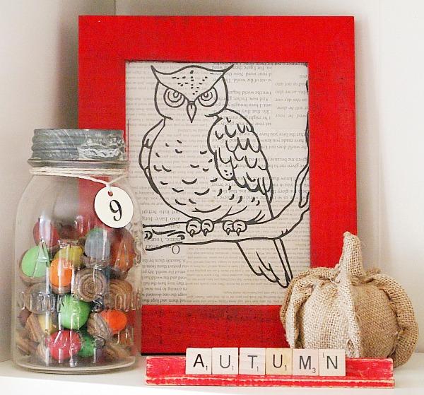 frugal fall decorating ideas