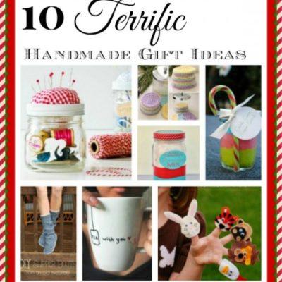 10 terrific handmade gift ideas for Christmas