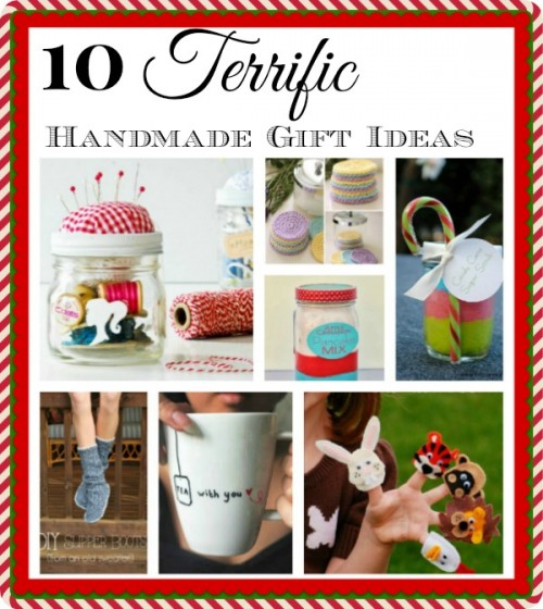 10 Easy Handmade Gifts- Want to save money this holiday season? Then be frugal with your gifting and give out some of these handmade gifts! | homemade gifts, DIY gifts, DIY Christmas gifts