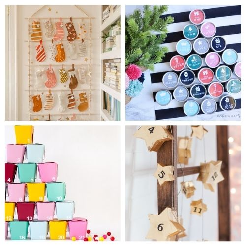 20 Fantastic Advent Calendars You Can Make Yourself- Here are 20 handmade ways to count down to Christmas! Use these easy DIY advent calendars to celebrate the holiday season in style! | Christmas DIY projects, homemade Christmas crafts, #adventCalendars #Christmas #ChristmasCrafts #ChristmasDIYs #ACultivatedNest