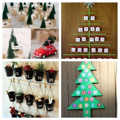 20 Fantastic Advent Calendar DIYs- Here are 20 handmade ways to count down to Christmas! Use these easy DIY advent calendars to celebrate the holiday season in style! | Christmas DIY projects, homemade Christmas crafts, #adventCalendars #Christmas #ChristmasCrafts #ChristmasDIYs #ACultivatedNest