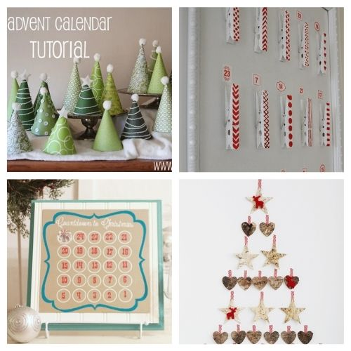 20 Fantastic Handmade Advent Calendars- Here are 20 handmade ways to count down to Christmas! Use these easy DIY advent calendars to celebrate the holiday season in style! | Christmas DIY projects, homemade Christmas crafts, #adventCalendars #Christmas #ChristmasCrafts #ChristmasDIYs #ACultivatedNest