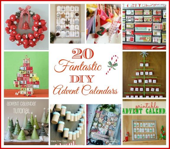 Christmas Calendar Ideas Year : Fantastic diy advent calenders a cultivated nest