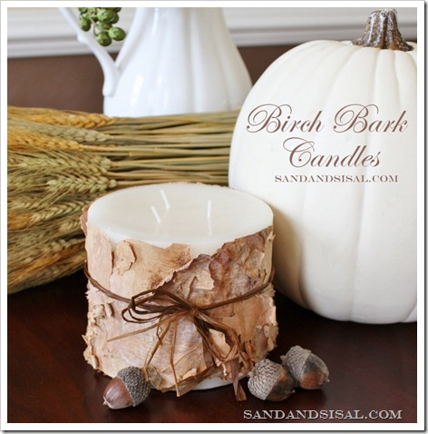 DIY Thanksgiving Candle Display Ideas- Make your Thanksgiving table or buffet more festive on a budget with these 15 gorgeous DIY Thanksgiving candle display ideas! | #Thanksgiving #diyCandles #DIY #ThanksgivingCrafts #ACultivatedNest