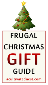 Frugal Homemade Christmas Gift Guide