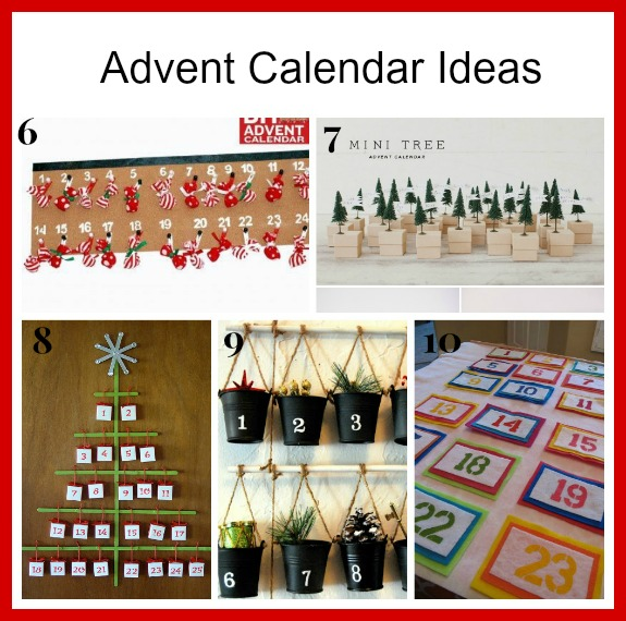 It's not too late to make an advent calendar! Here are 20 fantastic DIY advent calendar ideas! | handmade Christmas, DIY Christmas ideas, Christmas craft