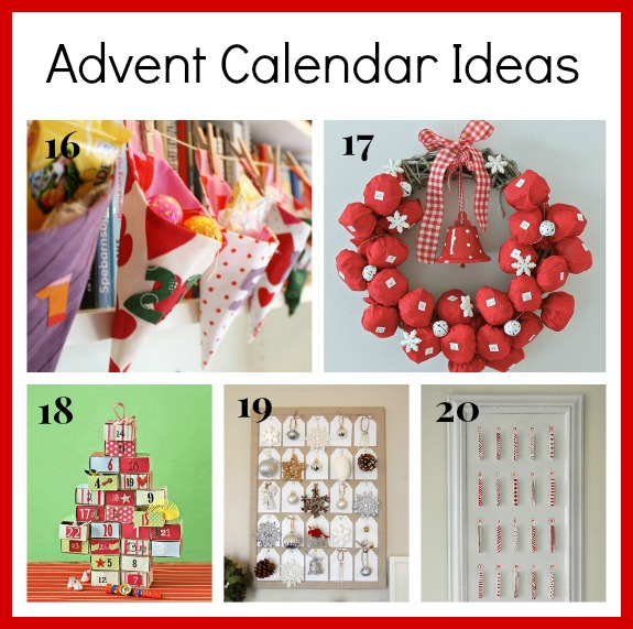 Advent Calendar Diy Ideas : Fantastic diy advent calenders a cultivated nest