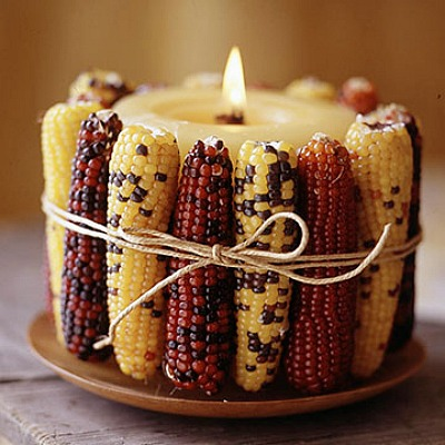 candle-wrapped-with-indian-corn