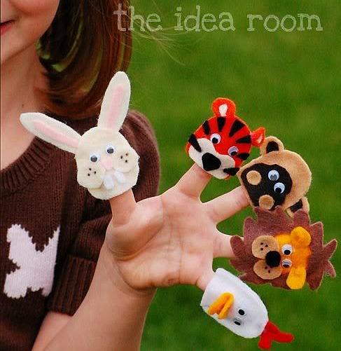 diy-felt-finger-puppets
