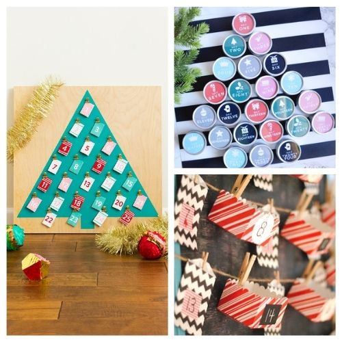 20 Fantastic DIY Advent Calendars- It's not too late to make an advent calendar to count down to Christmas! Here are 20 fantastic DIY advent calendar ideas! | Christmas DIY projects, homemade Christmas crafts, #adventCalendar #Christmas #crafts #diyProjects #ACultivatedNest