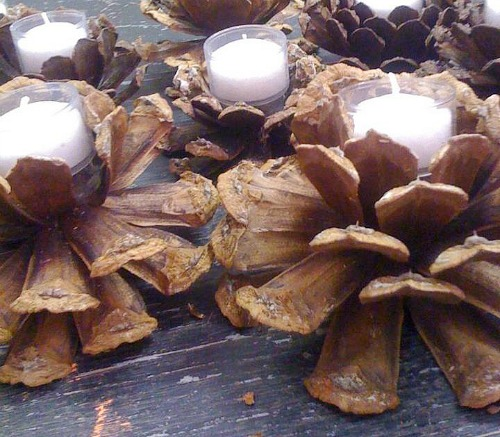 DIY pincone-votive-candles