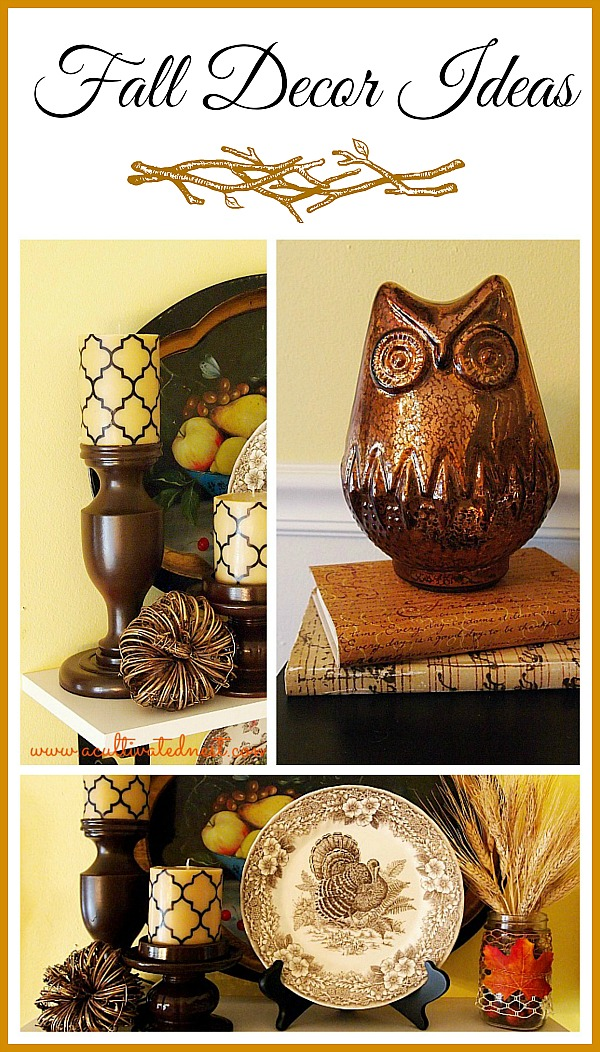 Some cute fall decorating ideas