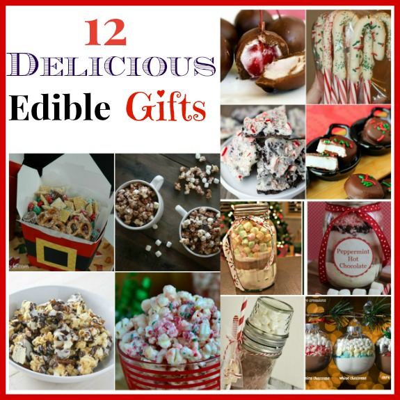 12 Delicious Homemade Edible Christmas Gifts - 12 Delicious Homemade Edible Christmas Gifts- A Cultivated Nest