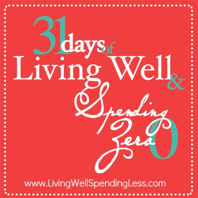 31 Days of Spending Zero