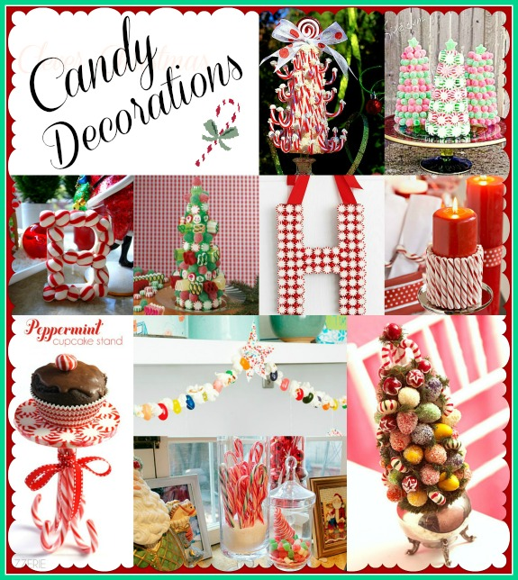 christmas candy decorations - Candy Christmas Decorations