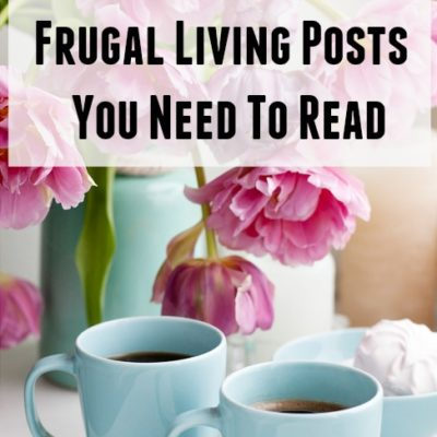 Frugal living tips articles