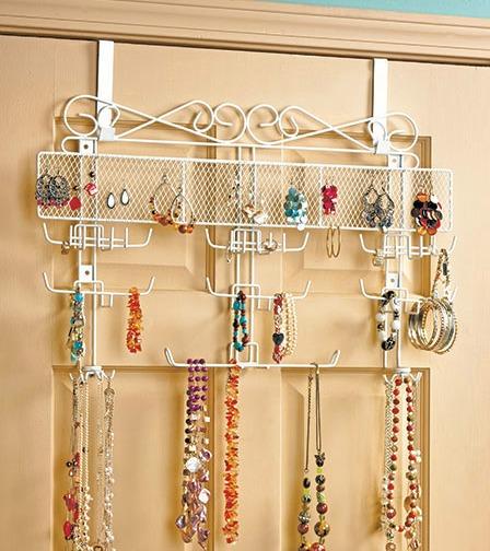 over the door jewelry valet