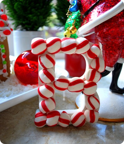 peppermint candy letters