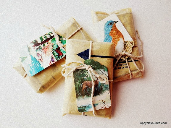 Some fantastic ideas for recycling christmas cards a for How to recycle old christmas cards