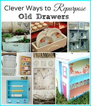 Check out these Clever Ways to Repurpose Old Drawers