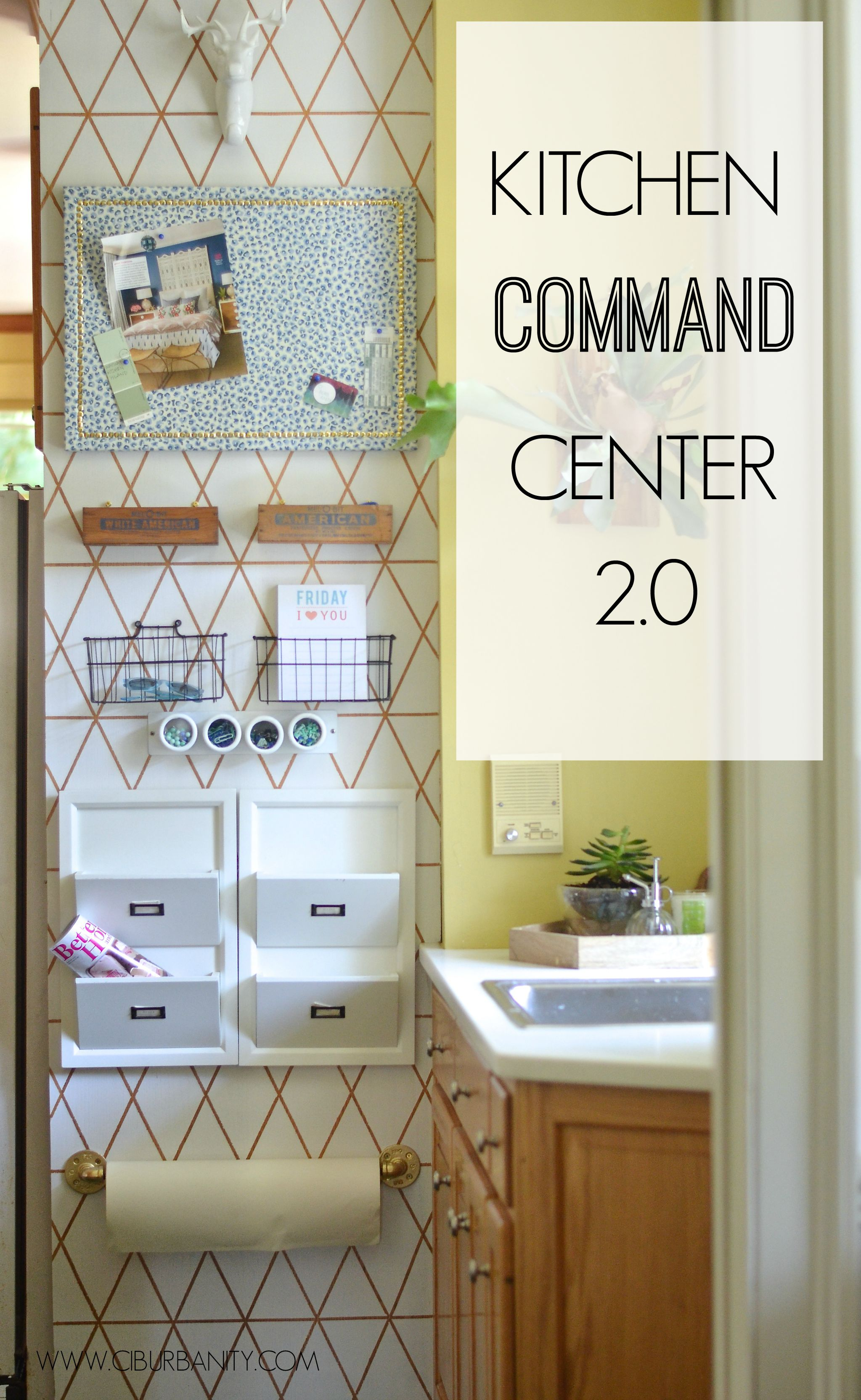 awesome diy family command centers