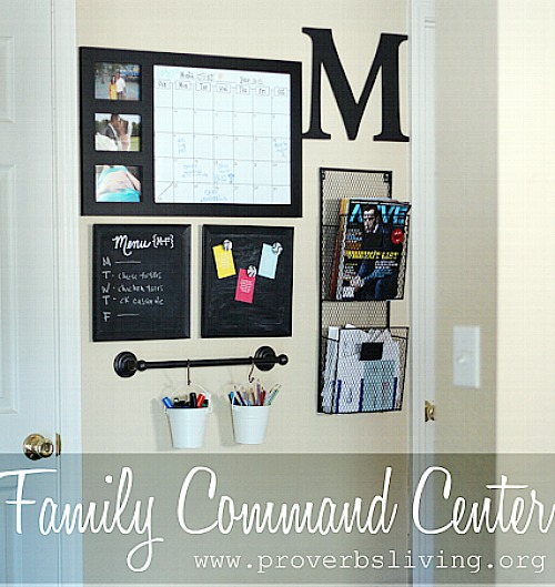 round up of family command centers