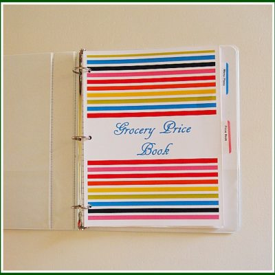 make a grocery store price book and save money on your groceries without couponing