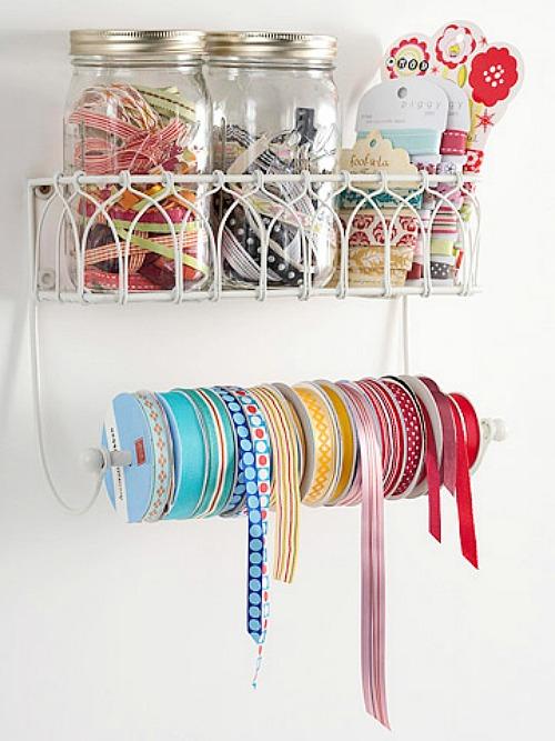 cute craft organization ideas Cute Storage Ideas