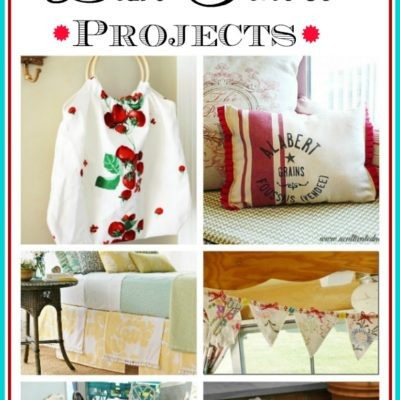 12 Gorgeous projects that repurpose dish towels