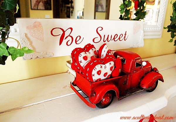 """Be Sweet"" handpainted Valentine's Day Sign"