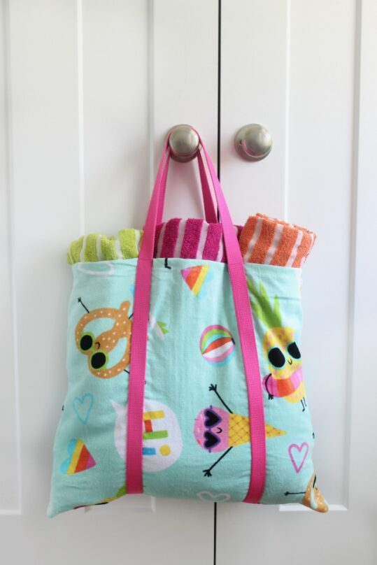 12 DIY Towel Upcycle Projects- These 12 gorgeous projects made with towels are easy, fun, and a great way to recycle material. These creative towel upcycling DIY projects are sure to inspire you! | sewing projects, upcycle old towels, #sewing #recycle #repurpose #diyProjects #ACultivatedNest