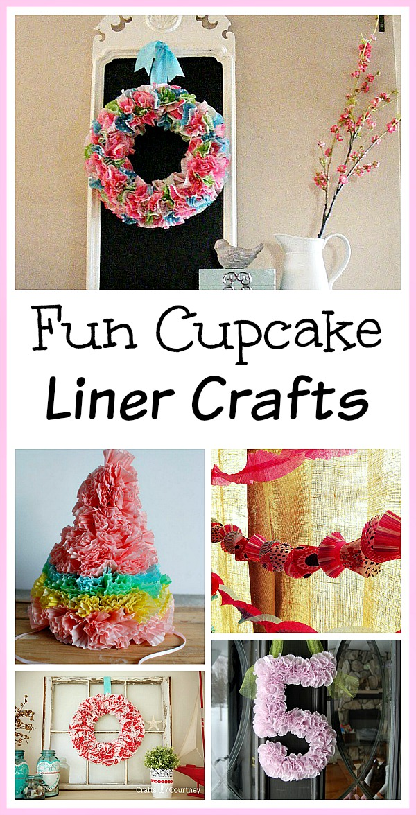 14 Fun Cupcake Liner Crafts